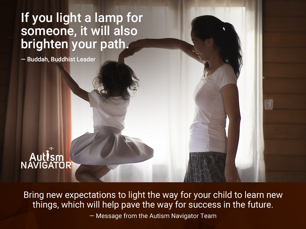 If you light a lamp for someone, it will also brighten your path.